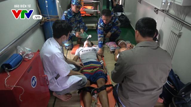 Điều động tàu Cảnh sát biển cứu một gia đình ngư dân nghi ngộ độc tại xã đảo Thổ Châu - Ảnh 1.