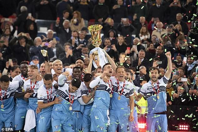 Lazio giành ngôi vô địch Coppa Italia - Ảnh 2.