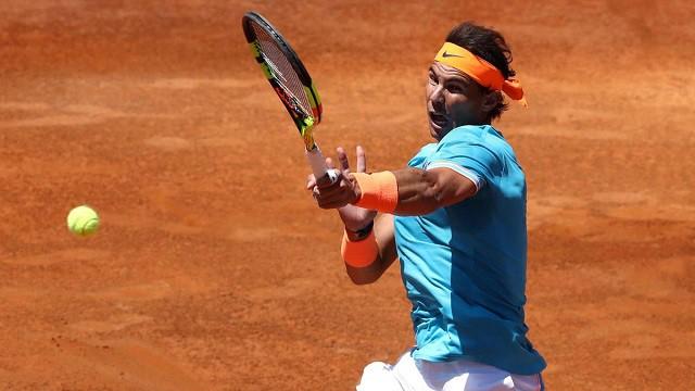 Vượt qua Tsitsipas, Nadal giành quyền vào chung kết Rome Masters 2019 - Ảnh 2.