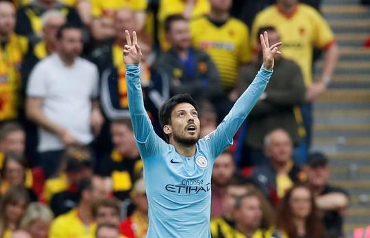 Vùi dập Watford, Man City đoạt ngôi vô địch FA Cup - Ảnh 1.