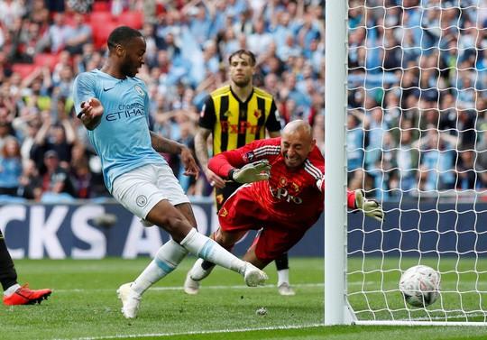 Vùi dập Watford, Man City đoạt ngôi vô địch FA Cup - Ảnh 2.