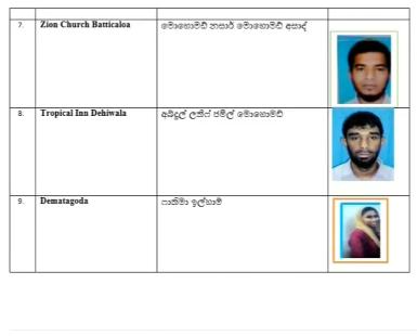 Sri Lanka công bố danh tính thủ phạm đánh bom - Ảnh 2.