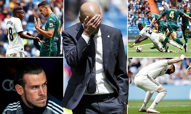 Giải VĐQG Tây Ban Nha La Liga ngày kết thúc mùa giải: Barcelona hòa, Real Madrid tiếp tục thua - Ảnh 4.