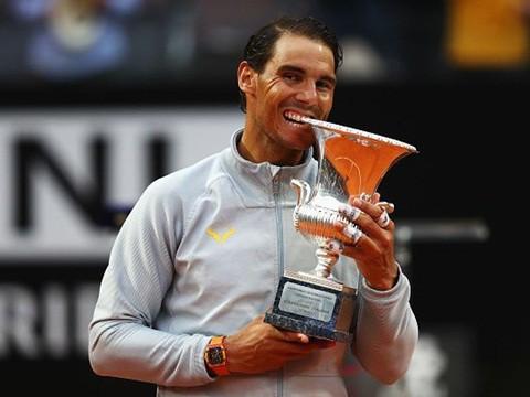 Thắng kịch tính Djokovic, Nadal lên ngôi xứng đáng tại Rome Masters 2019 - Ảnh 6.
