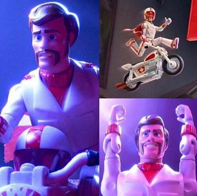 Sát thủ giải nghệ Keanu Reeves đổi nghề làm siêu sao đóng thế Duke Caboom trong phim hoạt hình Toy Story 4 - Ảnh 3.