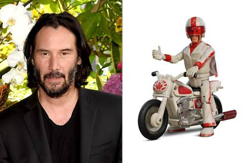 Sát thủ giải nghệ Keanu Reeves đổi nghề làm siêu sao đóng thế Duke Caboom trong phim hoạt hình Toy Story 4 - Ảnh 4.