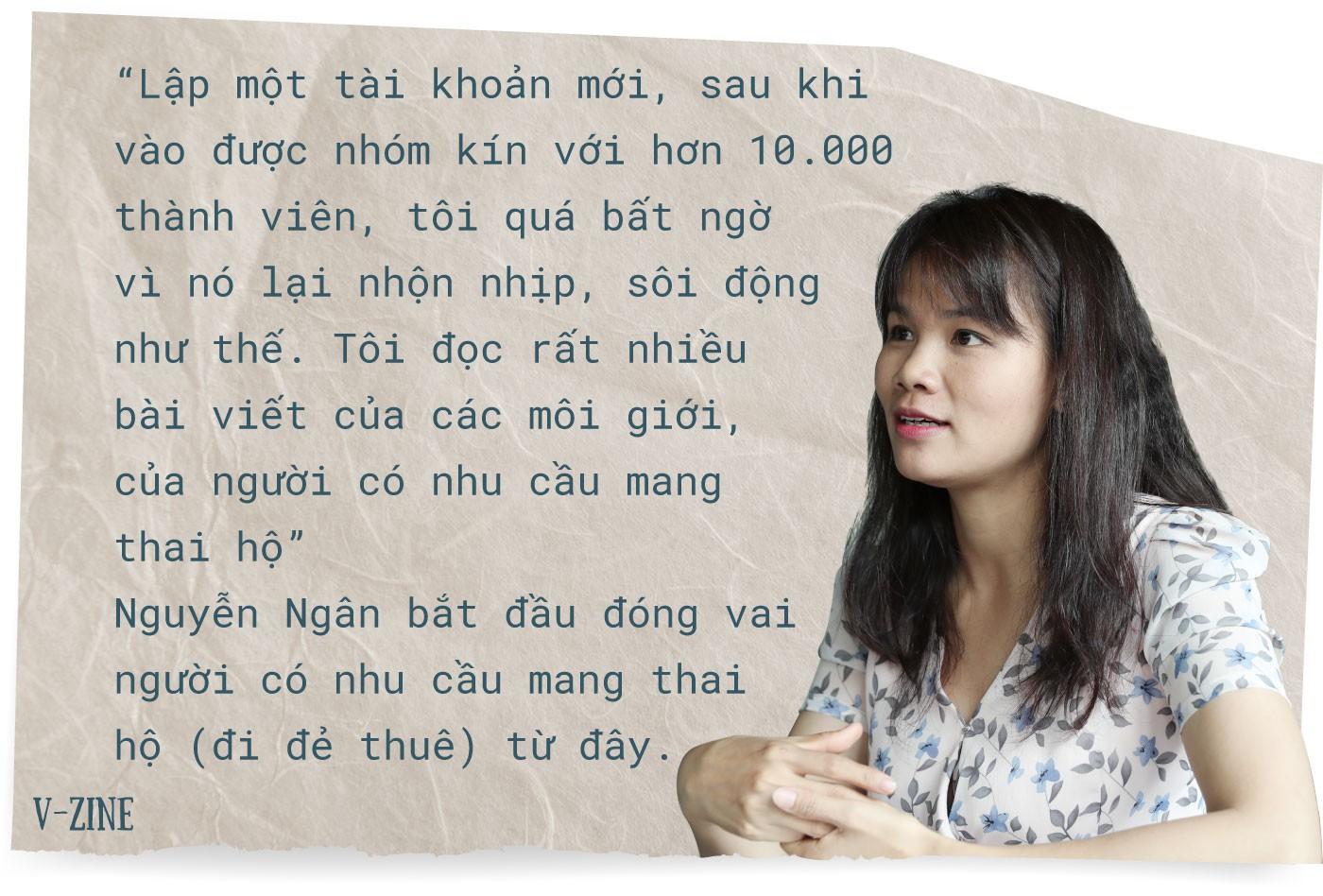 Phóng viên Nguyễn Ngân và 3 tháng nhập vai phụ nữ mang thai hộ - Ảnh 4.