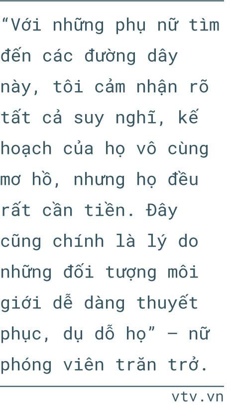Phóng viên Nguyễn Ngân và 3 tháng nhập vai phụ nữ mang thai hộ - Ảnh 19.