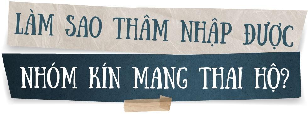 Phóng viên Nguyễn Ngân và 3 tháng nhập vai phụ nữ mang thai hộ - Ảnh 2.