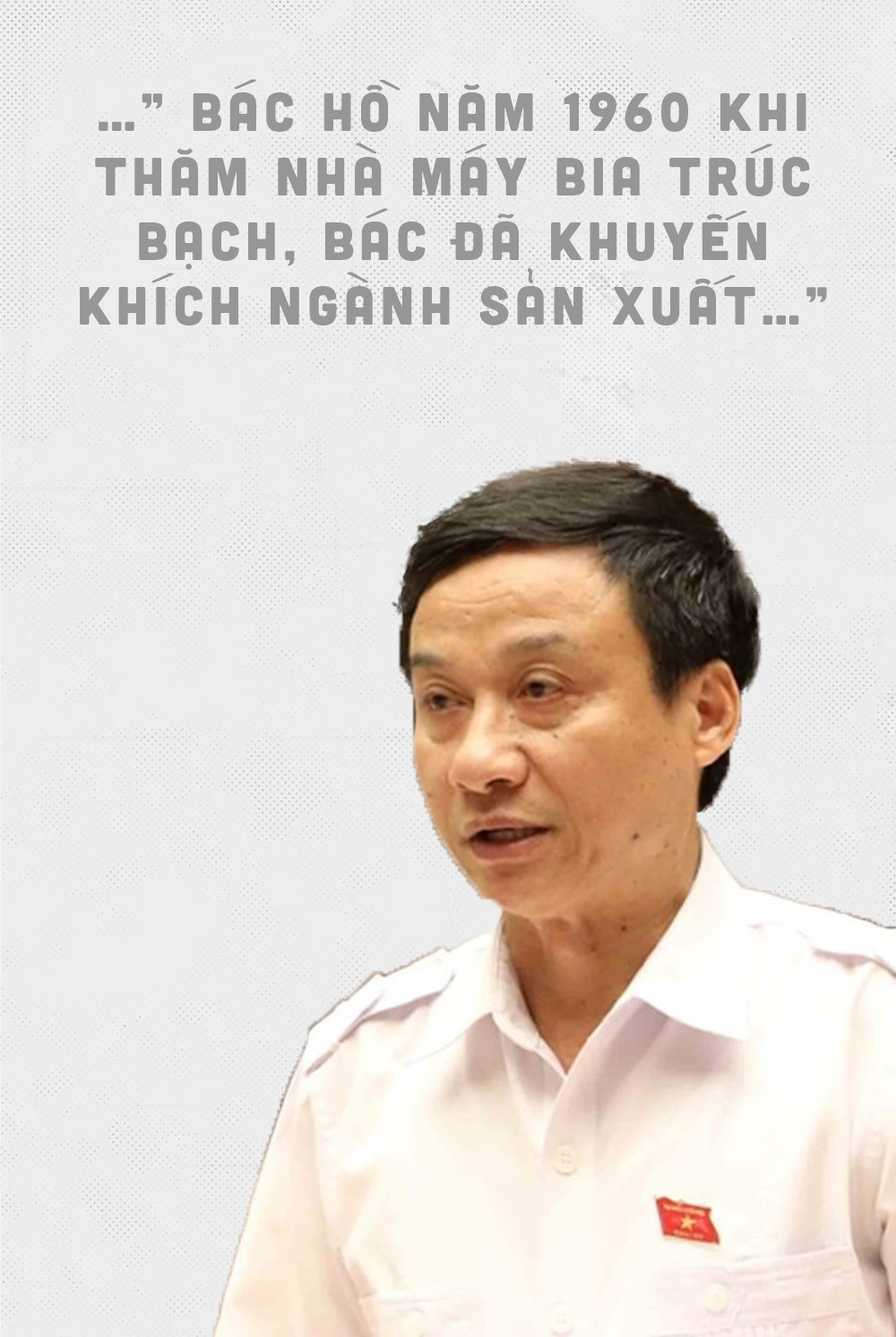 Đại biểu Quốc hội, xin hãy thận trọng khi trích dẫn hình ảnh, lời nói của Chủ tịch Hồ Chí Minh - Ảnh 2.
