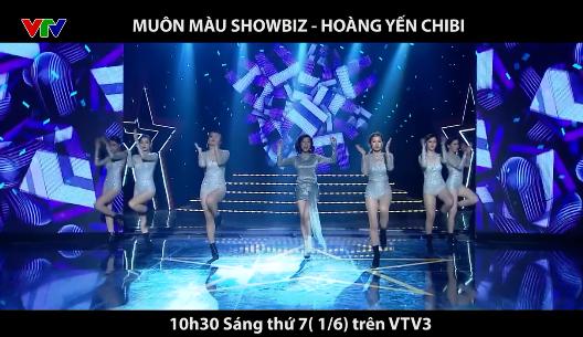 Hoàng Yến Chibi cực nhí nhảnh trong Muôn màu showbiz - Ảnh 1.