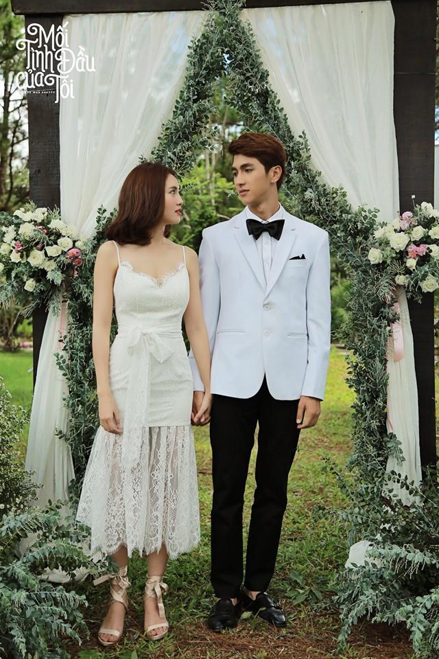 Bộ ảnh cưới đẹp mê mẩn của An Chi - Nam Phong trong Mối tình đầu của tôi - Ảnh 8.