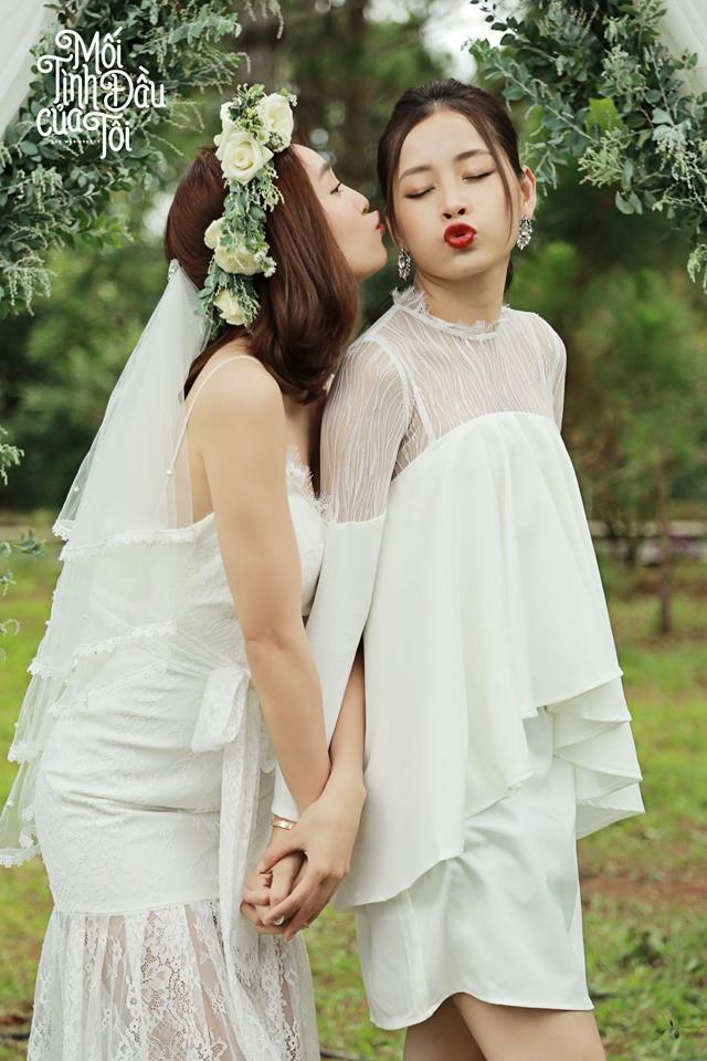 Bộ ảnh cưới đẹp mê mẩn của An Chi - Nam Phong trong Mối tình đầu của tôi - Ảnh 14.