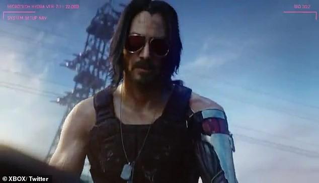 John Wick Keanu Reeves góp mặt trong trò chơi điện tử Cyberpunk 2077 - Ảnh 1.