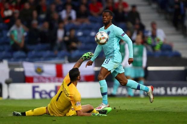 Thắng tối thiểu Hà Lan, Bồ Đào Nha lần đầu vô địch UEFA Nations League - Ảnh 3.