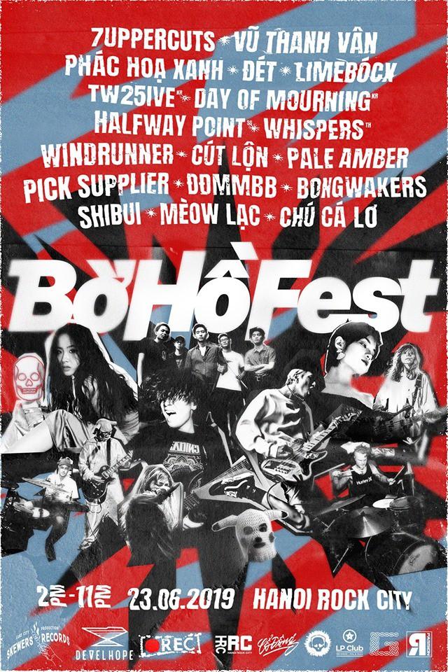 Bờ Hồ Fest 2019: Đại tiệc âm nhạc đa sắc màu - Ảnh 2.