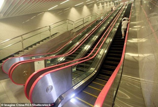 Nhà ga tàu điện ngầm có độ sâu bằng chiều cao tòa nhà 31 tầng - ảnh 2