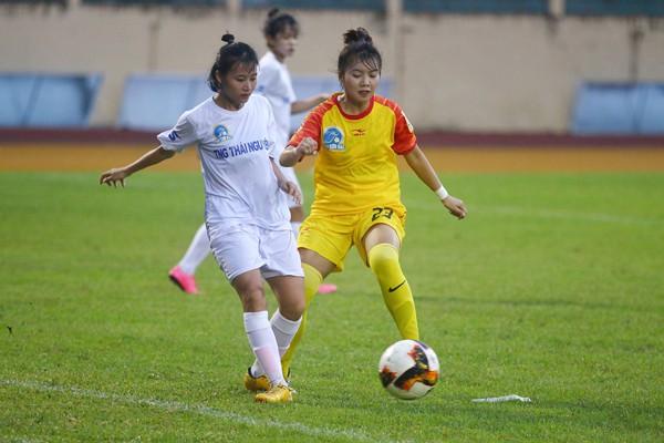 Vòng 3 bóng đá nữ VĐQG 2019: Than KS Việt Nam chia điểm Phong Phú Hà Nam - Ảnh 1.