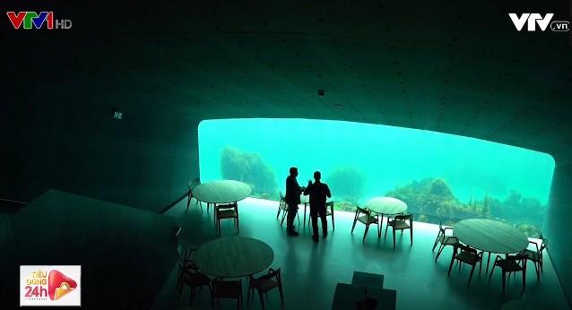 Nhà hàng dưới biển lớn nhất thế giới - Ảnh 1.