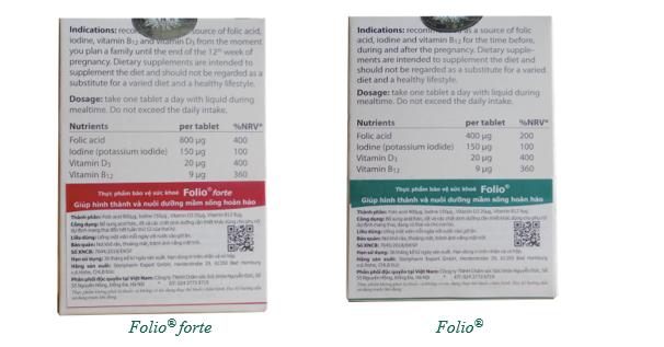 Hướng dẫn Mẹ bầu mua bổ bầu Folio® chính hãng của Đức - Ảnh 7.