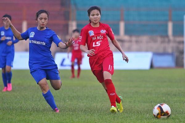 Vòng 5 giải BĐ nữ VĐQG - Cúp Thái Sơn Bắc 2019 (25/6): Đại thắng, Hà Nội gia nhập nhóm đầu - Ảnh 2.