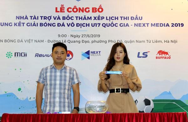 Bốc thăm chia bảng VCK U17 Quốc gia 2019: Viettel, HAGL cùng bảng chủ nhà Tây Ninh - Ảnh 1.
