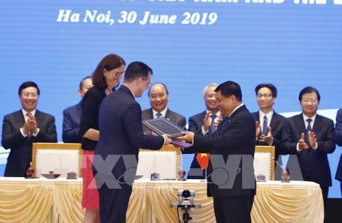 EVFTA và EVIPA là động lực mới nâng tầm quan hệ đối tác và hợp tác toàn diện Việt Nam – EU trong thập kỷ thứ tư - Ảnh 1.