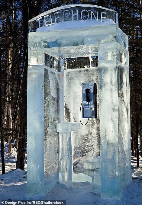Chiêm ngưỡng những bốt điện thoại kì lạ nhất thế giới - ảnh 5