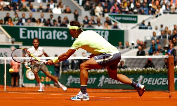 Vượt qua Federer, Nadal lần thứ 12 vào chung kết Pháp mở rộng 2019 - Ảnh 2.