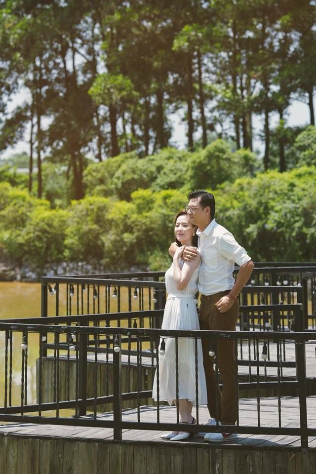 Đan Lê tung bộ ảnh ngọt ngào bên chồng, bật mí mối tình hơn 20 năm với Khải Anh - Ảnh 3.