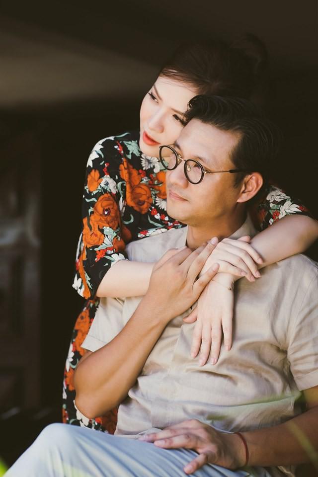 Đan Lê tung bộ ảnh ngọt ngào bên chồng, bật mí mối tình hơn 20 năm với Khải Anh - Ảnh 5.