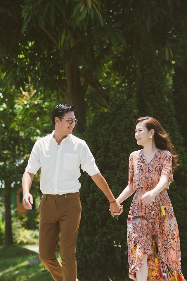 Đan Lê tung bộ ảnh ngọt ngào bên chồng, bật mí mối tình hơn 20 năm với Khải Anh - Ảnh 4.