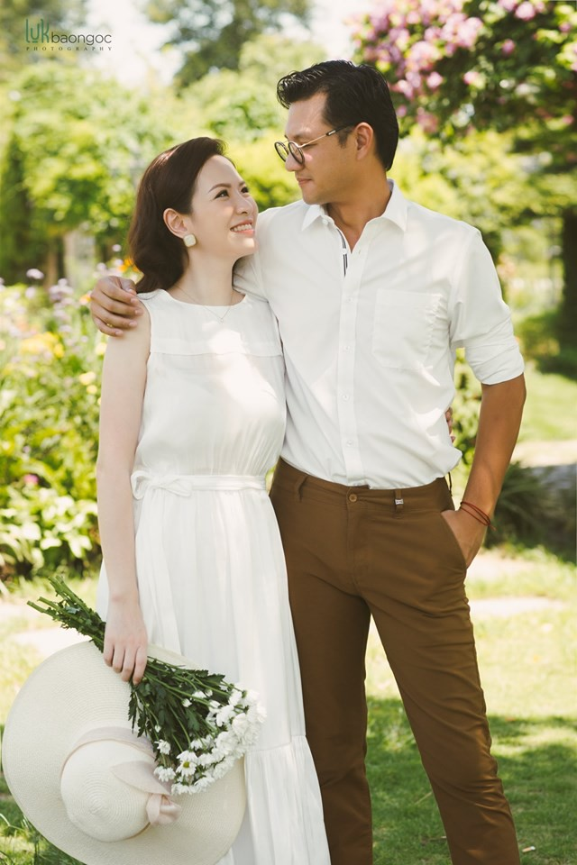 Đan Lê tung bộ ảnh ngọt ngào bên chồng, bật mí mối tình hơn 20 năm với Khải Anh - Ảnh 13.