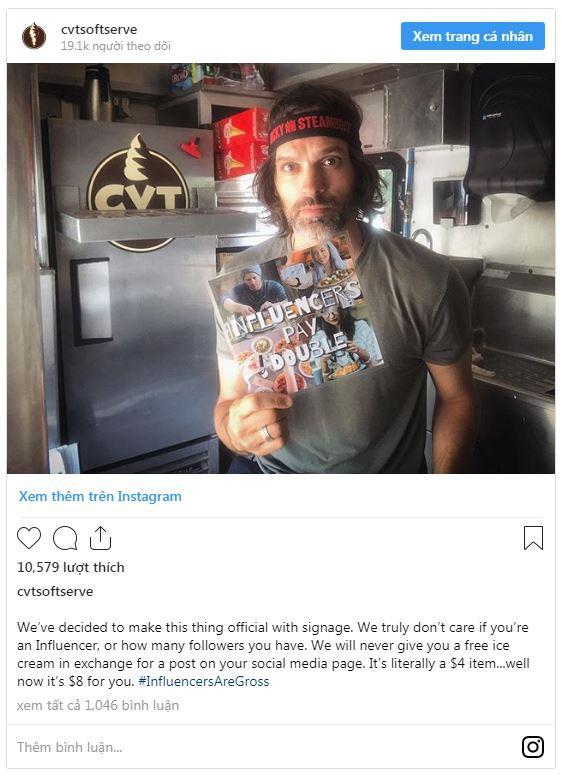 Bán kem giá gấp đôi cho người muốn ăn miễn phí - Ảnh 1.