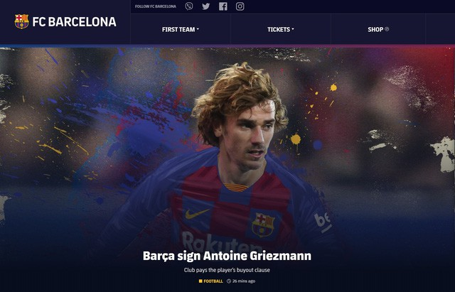 Barcelona đã chính thức có được Griezmann  - Ảnh 1.