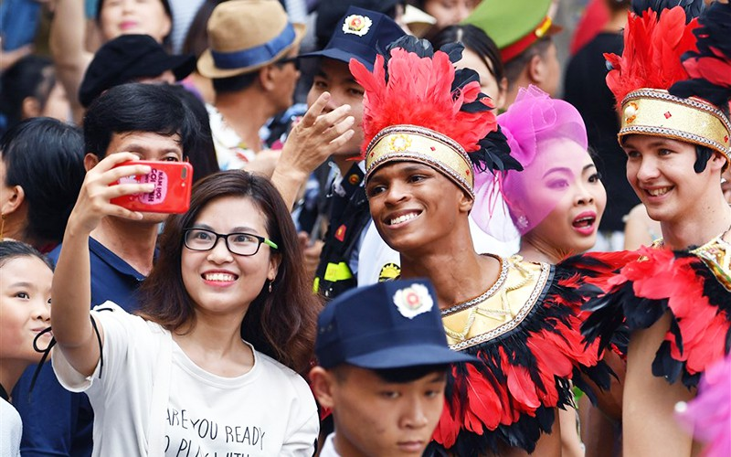 The carnival will be held on July 14 (Photo: NDO)