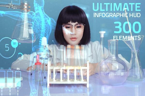 Hoa hậu Lê Đỗ Minh Thảo đẹp - độc - lạ trong bộ ảnh về ngành xét nghiệm - Ảnh 1.