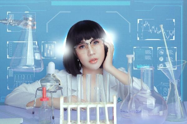 Hoa hậu Lê Đỗ Minh Thảo đẹp - độc - lạ trong bộ ảnh về ngành xét nghiệm - Ảnh 3.