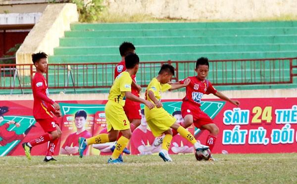 U13 Sông Lam Nghệ An vô địch giải bóng đá thiếu niên toàn quốc  - Cúp KUN Siêu Phàm 2019 - Ảnh 1.