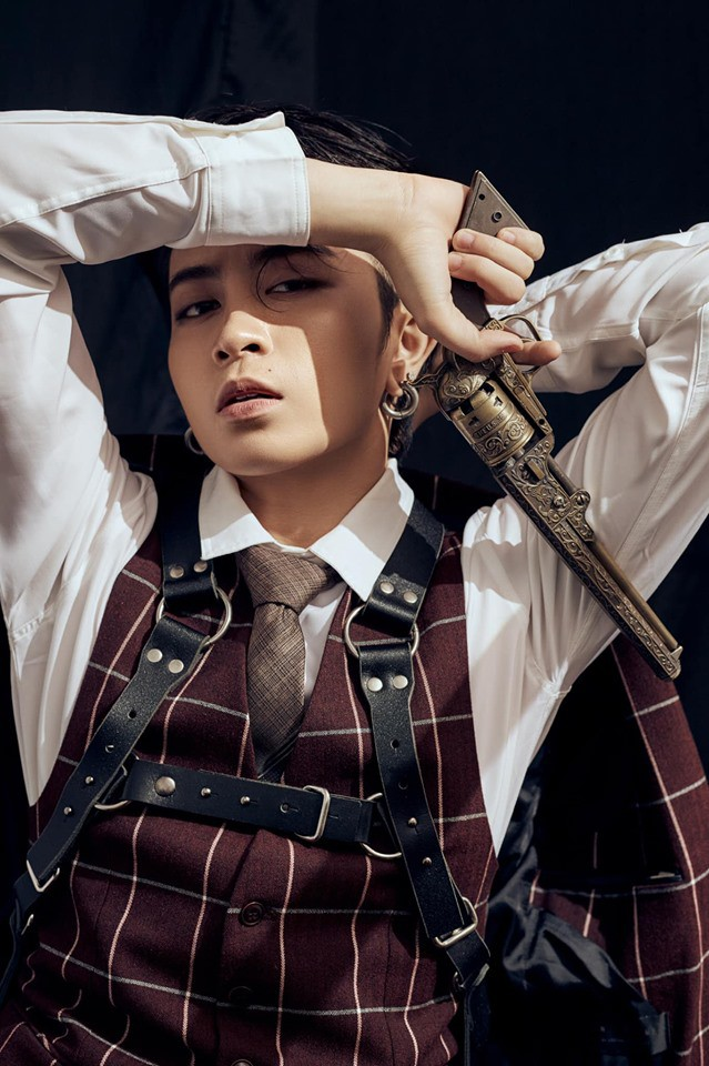 Gil Lê đẹp trai như tài tử Hong Kong trong bộ ảnh mới - Ảnh 3.