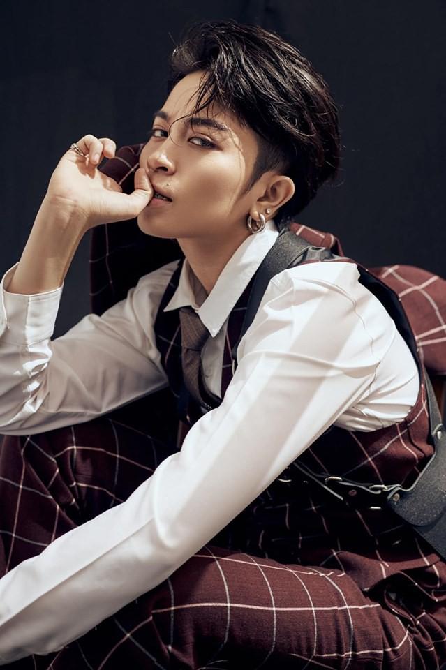 Gil Lê đẹp trai như tài tử Hong Kong trong bộ ảnh mới - Ảnh 4.
