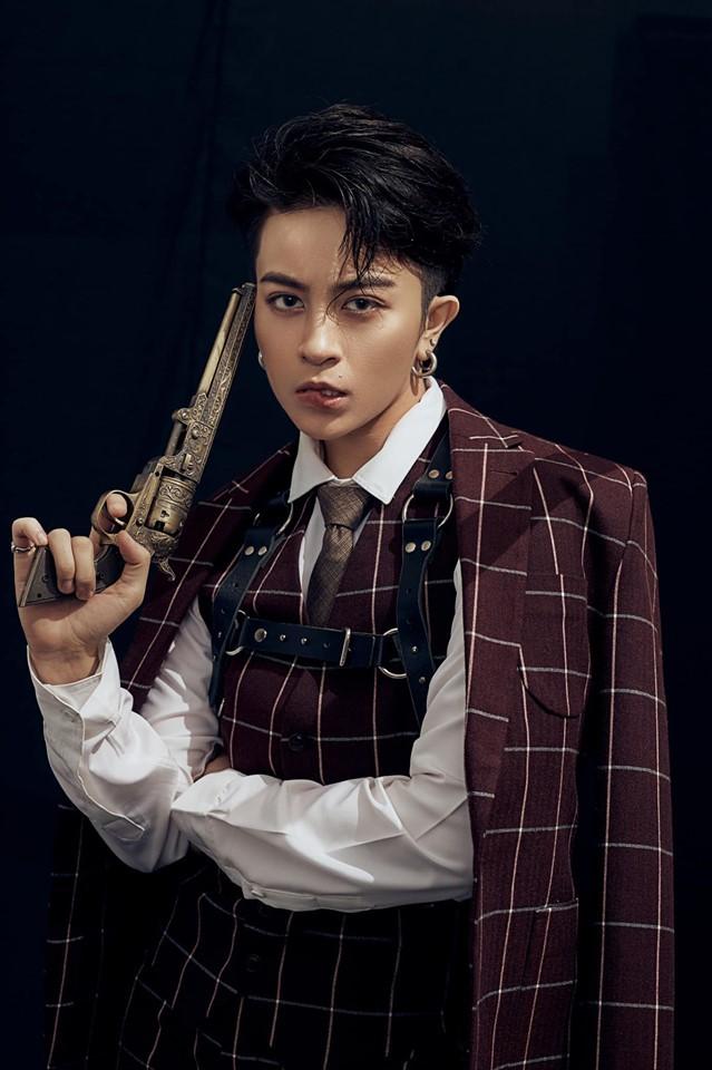 Gil Lê đẹp trai như tài tử Hong Kong trong bộ ảnh mới - Ảnh 7.
