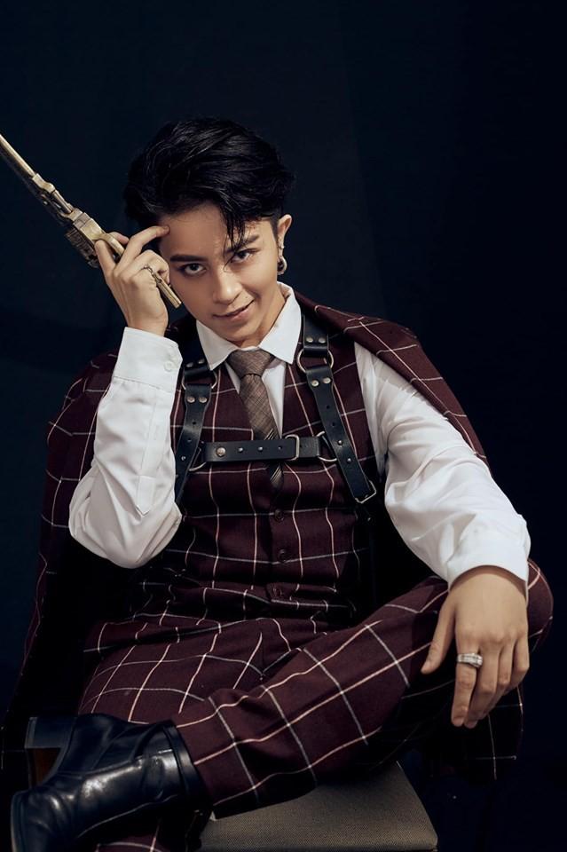 Gil Lê đẹp trai như tài tử Hong Kong trong bộ ảnh mới - Ảnh 8.