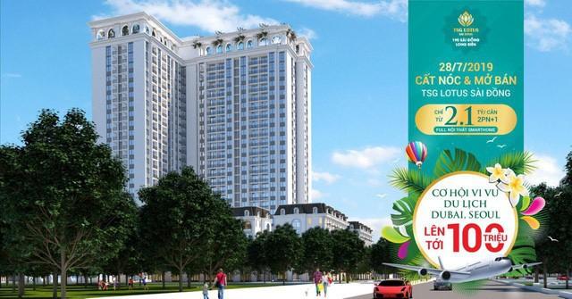 Mở bán & cất nóc TSG Lotus Sài Đồng: Tậu nhà sang - trúng quà lên tới 100 triệu đồng - Ảnh 2.