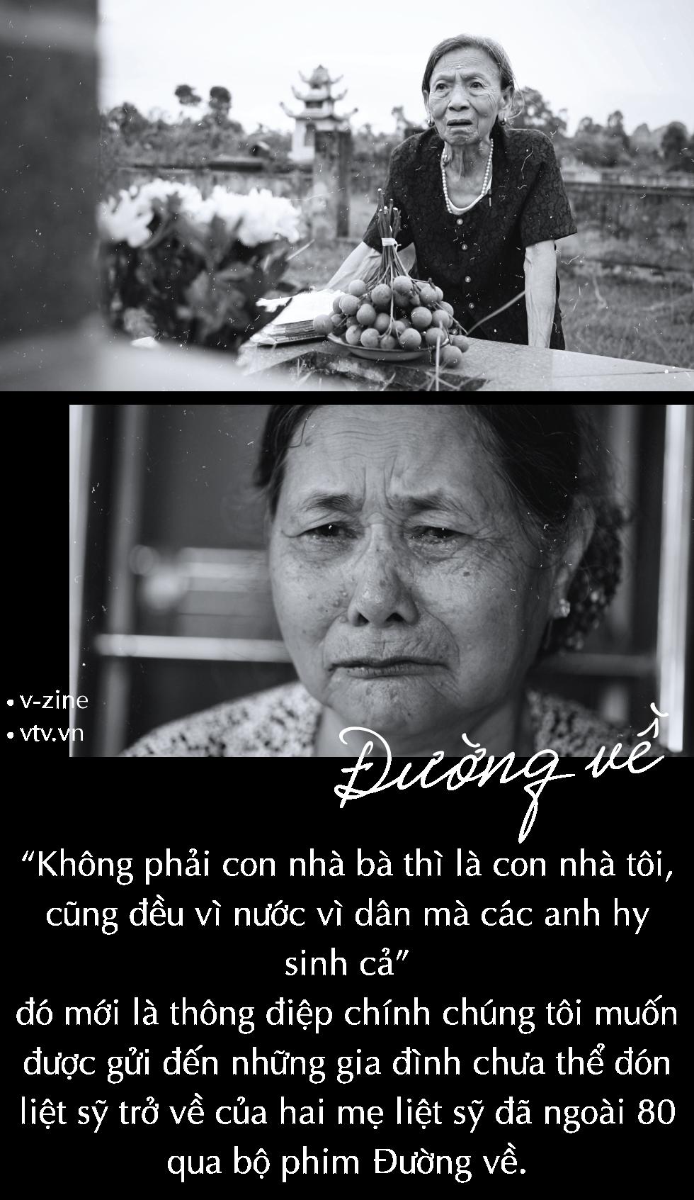 Đạo diễn Tạ Quỳnh Tư: VTV Đặc biệt - Đường về khỏa lấp nỗi đau của nhiều gia đình liệt sỹ - Ảnh 12.