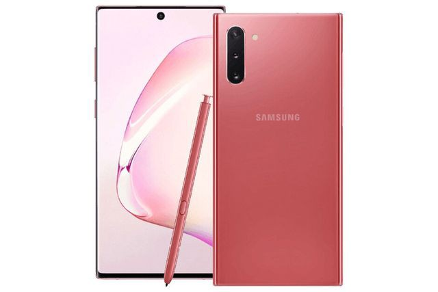 Lộ ảnh chính thức Galaxy Note10 phiên bản màu hồng - Ảnh 1.