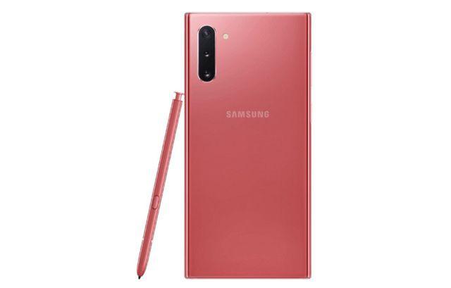 Lộ ảnh chính thức Galaxy Note10 phiên bản màu hồng - Ảnh 4.