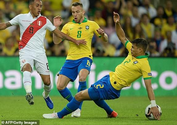 ẢNH: Jesus nhận thẻ đỏ, Brazil vẫn vô địch Copa America sau 12 năm chờ đợi - Ảnh 6.
