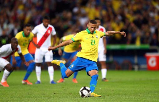 ẢNH: Jesus nhận thẻ đỏ, Brazil vẫn vô địch Copa America sau 12 năm chờ đợi - Ảnh 14.