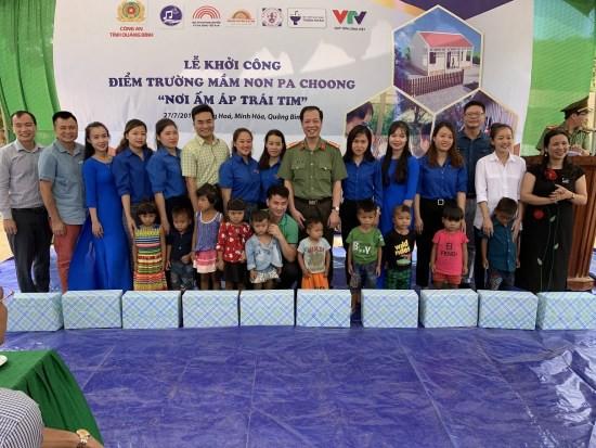 Nghệ sĩ Xuân Bắc và Tự Long tham gia lễ khởi công xây dựng điểm trường Pa Choong - Ảnh 3.